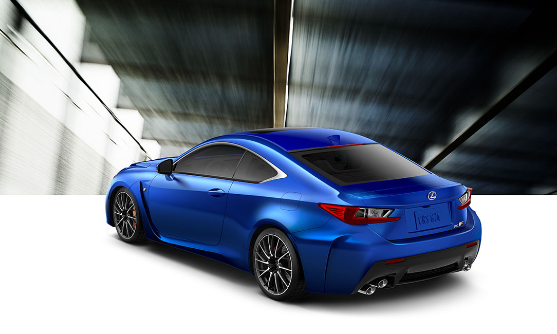 2019 Lexus RC F - Luxury Sport Coupe - Specifications ...
