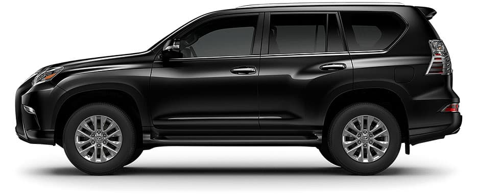 Lexus GX shown in Black Onyx.