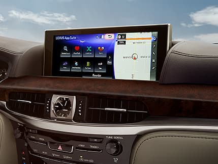 Image of LEXUS ENFORM APP SUITE