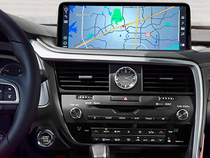 Image of NAVIGATION SYSTEM WITH 12.3-INCH TOUCHSCREEN DISPLAY