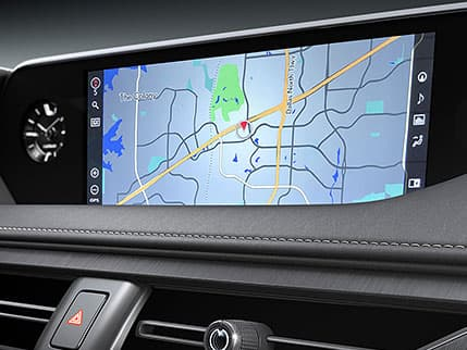 Image of NAVIGATION SYSTEM WITH 10.3-INCH SPLIT-SCREEN MULTIMEDIA DISPLAY