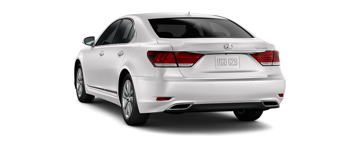 2017 ls 460 in Eminent White Pearl with '18-in split-five-spoke alloy wheels<span class='tooltip-trigger disclaimer' data-disclaimers='[{\'code\':\'TIREWEAR2\',\'isTerms\':false,\'body\':\'18-in performance tires are expected to experience greater tire wear than conventional tires.  Tire life may be substantially less than 15,000 miles, depending upon driving conditions.\'}]'><span class='asterisk'>*</span></span>' angle3