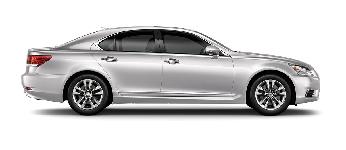 2017 ls 460 in Eminent White Pearl with '18-in split-five-spoke alloy wheels<span class='tooltip-trigger disclaimer' data-disclaimers='[{\'code\':\'TIREWEAR2\',\'isTerms\':false,\'body\':\'18-in performance tires are expected to experience greater tire wear than conventional tires. Tire life may be substantially less than 15,000 miles, depending upon driving conditions.\'}]'><span class='asterisk'>*</span></span>' angle4