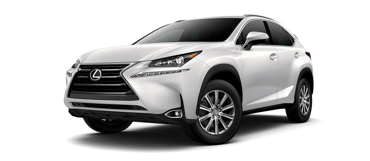 2017 nx TURBO in Eminent White Pearl with '17-in 10-spoke alloy wheels<span class='tooltip-trigger disclaimer' data-disclaimers='[{\'code\':\'TIREWEAR1\',\'isTerms\':false,\'body\':\'17-in performance tires are expected to experience greater tire wear than conventional tires. Tire life may be substantially less than 20,000 miles, depending upon driving conditions.\'}]'><span class='asterisk'>*</span></span>' angle1