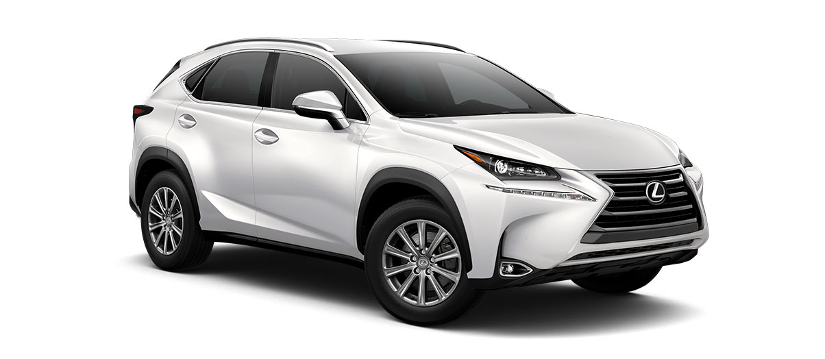 2017 nx TURBO in Eminent White Pearl with '17-in 10-spoke alloy wheels<span class='tooltip-trigger disclaimer' data-disclaimers='[{\'code\':\'TIREWEAR1\',\'isTerms\':false,\'body\':\'17-in performance tires are expected to experience greater tire wear than conventional tires.  Tire life may be substantially less than 20,000 miles, depending upon driving conditions.\'}]'><span class='asterisk'>*</span></span>' angle4
