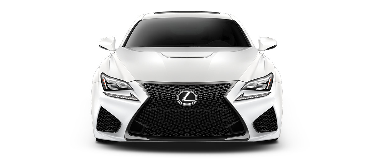 2017 rcf   in Ultra White with '19-in split-seven-spoke forged alloy wheels<span class='tooltip-trigger disclaimer' data-disclaimers='[{\'code\':\'TIREWEAR5\',\'isTerms\':false,\'body\':\'19-in performance tires are expected to experience greater tire wear than conventional tires.  Tire life may be substantially less than 15,000 miles, depending upon driving conditions.\'}]'><span class='asterisk'>*</span></span>' angle2