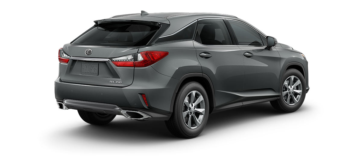 2017 rx 350 in Nebula Gray Pearl with '18-in seven-spoke alloy wheels<span class='tooltip-trigger disclaimer' data-disclaimers='[{\'code\':\'TIREWEAR2\',\'isTerms\':false,\'body\':\'18-in performance tires are expected to experience greater tire wear than conventional tires.  Tire life may be substantially less than 15,000 miles, depending upon driving conditions.\'}]'><span class='asterisk'>*</span></span>' angle2