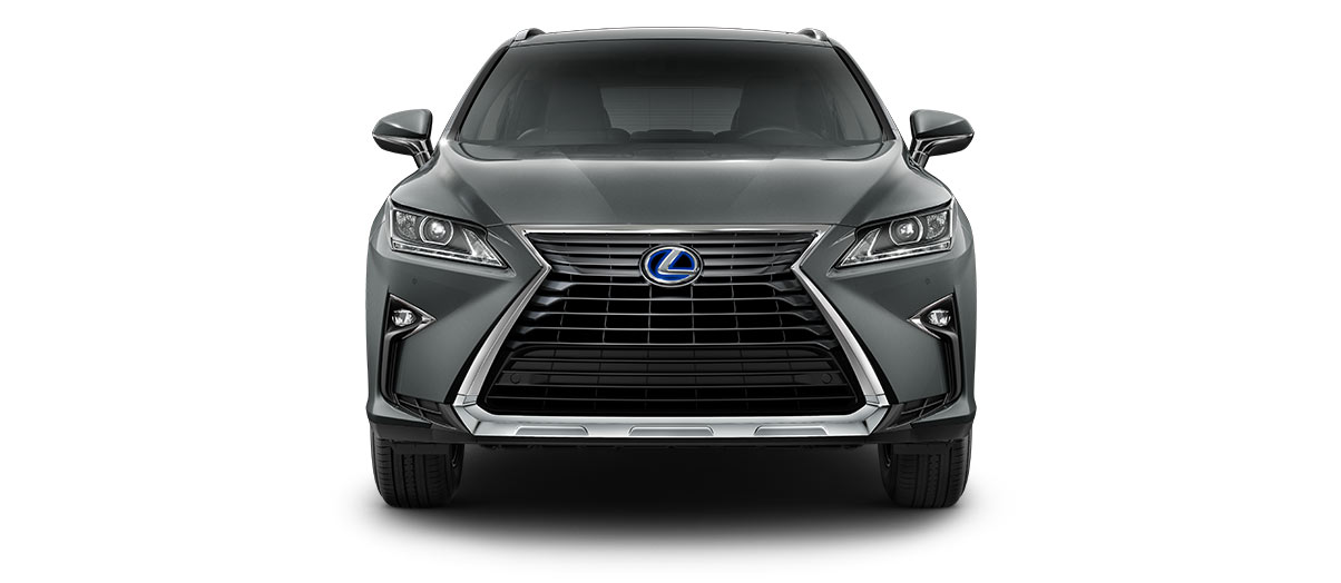 2017 rx 450h in Nebula Gray Pearl with '18-in seven-spoke alloy wheels<span class='tooltip-trigger disclaimer' data-disclaimers='[{\'code\':\'TIREWEAR2\',\'isTerms\':false,\'body\':\'18-in performance tires are expected to experience greater tire wear than conventional tires.  Tire life may be substantially less than 15,000 miles, depending upon driving conditions.\'}]'><span class='asterisk'>*</span></span>' angle4