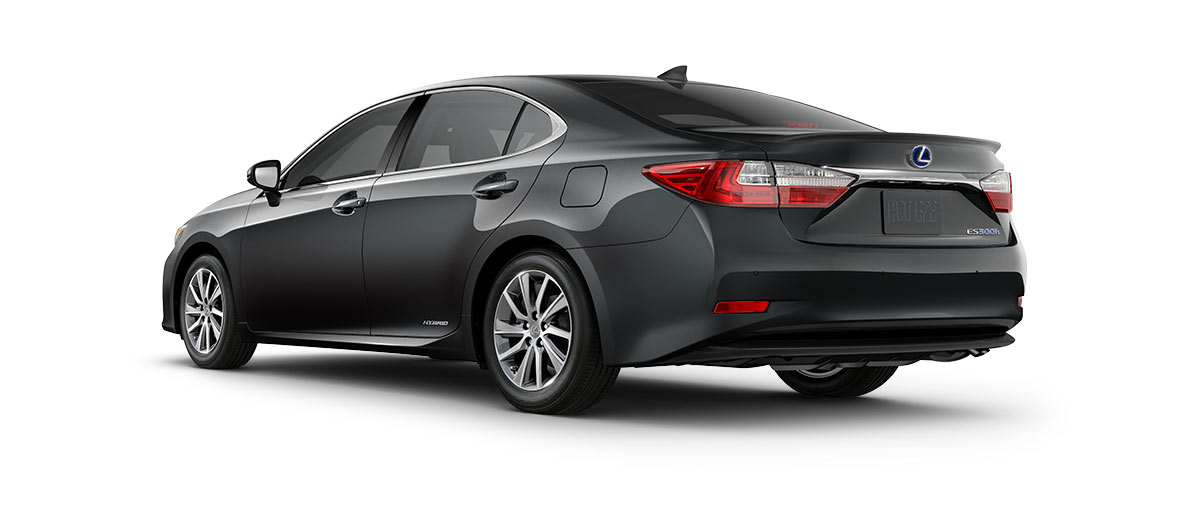 2018 es 300h in Nebula Gray Pearl with '17-in split-five-spoke alloy wheels<span class='tooltip-trigger disclaimer' data-disclaimers='[{\'code\':\'TIREWEAR1\',\'isTerms\':false,\'body\':\'17-in performance tires are expected to experience greater tire wear than conventional tires. Tire life may be substantially less than 15,000 miles, depending upon driving conditions.\'}]'><span class='asterisk'>*</span></span>' angle4
