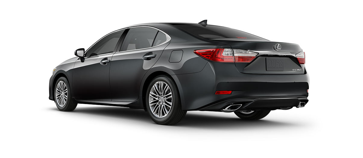 2018 es 350 in Nebula Gray Pearl with '17-in split-10-spoke alloy wheels<span class='tooltip-trigger disclaimer' data-disclaimers='[{\'code\':\'TIREWEAR1\',\'isTerms\':false,\'body\':\'17-in performance tires are expected to experience greater tire wear than conventional tires. Tire life may be substantially less than 15,000 miles, depending upon driving conditions.\'}]'><span class='asterisk'>*</span></span> with high-gloss finish' angle4