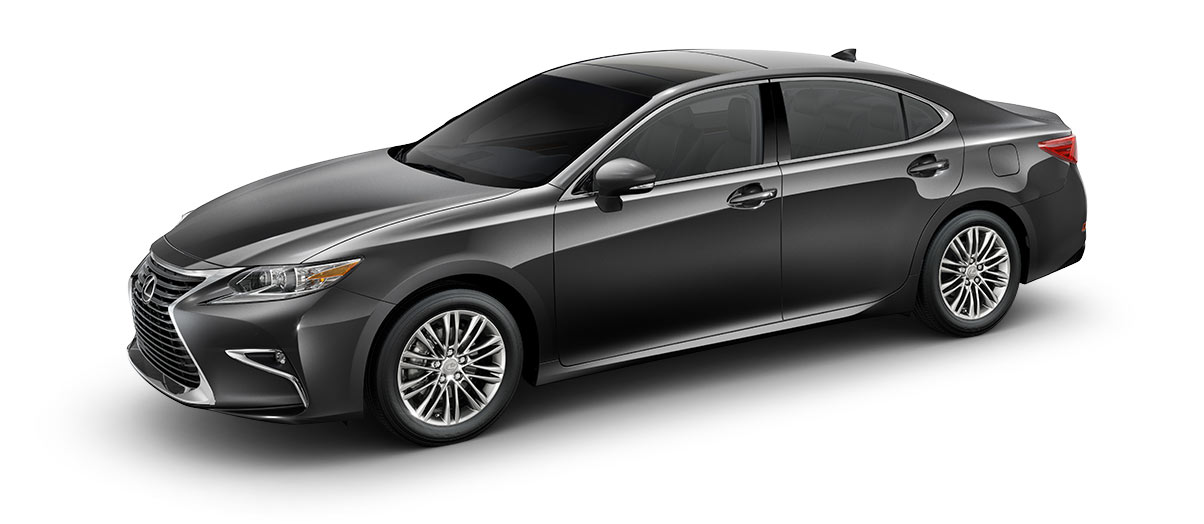 2018 es 350 in Nebula Gray Pearl with '17-in split-10-spoke alloy wheels<span class='tooltip-trigger disclaimer' data-disclaimers='[{\'code\':\'TIREWEAR1\',\'isTerms\':false,\'body\':\'17-in performance tires are expected to experience greater tire wear than conventional tires. Tire life may be substantially less than 15,000 miles, depending upon driving conditions.\'}]'><span class='asterisk'>*</span></span> with high-gloss finish' angle5