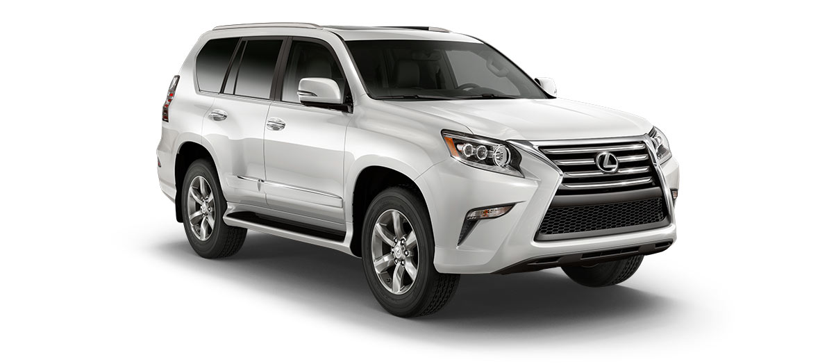 2018 gx 460 in Starfire Pearl with '18-inch six-spoke alloy wheels<span class='tooltip-trigger disclaimer' data-disclaimers='[{\'code\':\'TIREWEAR2\',\'isTerms\':false,\'body\':\'18-in performance tires are expected to experience greater tire wear than conventional tires. Tire life may be substantially less than 15,000 miles, depending upon driving conditions.\'}]'><span class='asterisk'>*</span></span>' angle1