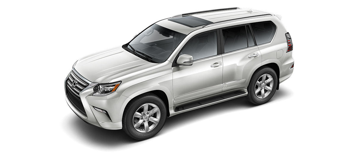 2018 gx 460 in Starfire Pearl with '18-inch six-spoke alloy wheels<span class='tooltip-trigger disclaimer' data-disclaimers='[{\'code\':\'TIREWEAR2\',\'isTerms\':false,\'body\':\'18-in performance tires are expected to experience greater tire wear than conventional tires. Tire life may be substantially less than 15,000 miles, depending upon driving conditions.\'}]'><span class='asterisk'>*</span></span>' angle3