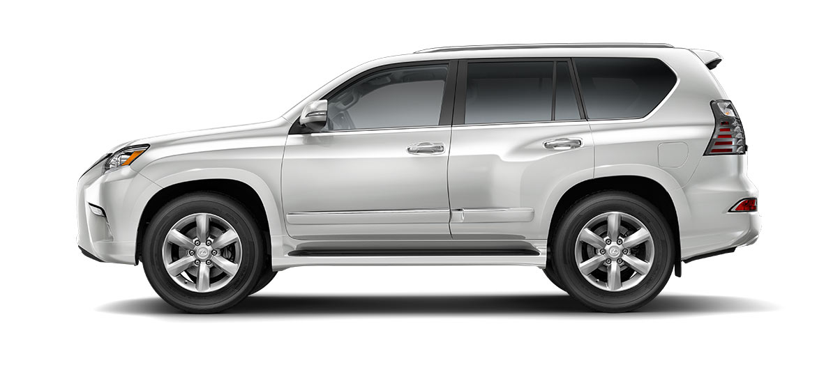 2018 gx 460 in Starfire Pearl with '18-inch six-spoke alloy wheels<span class='tooltip-trigger disclaimer' data-disclaimers='[{\'code\':\'TIREWEAR2\',\'isTerms\':false,\'body\':\'18-in performance tires are expected to experience greater tire wear than conventional tires. Tire life may be substantially less than 15,000 miles, depending upon driving conditions.\'}]'><span class='asterisk'>*</span></span>' angle5