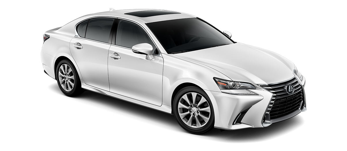 2019 gs 300 in Eminent White Pearl with '17-inch nine-spoke alloy wheels<span class='tooltip-trigger disclaimer' data-disclaimers='[{\'code\':\'TIREWEAR1\',\'isTerms\':false,\'body\':\'17-in performance tires are expected to experience greater tire wear than conventional tires. Tire life may be substantially less than mileage expectancy or 15,000 miles, depending upon driving conditions.\'}]'><span class='asterisk'>*</span></span>' angle4