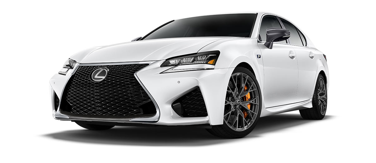2019 gsf   in Ultra White with '19-inch BBS split-10-spoke forged alloy wheels<span class='tooltip-trigger disclaimer' data-disclaimers='[{\'code\':\'TIREWEAR5\',\'isTerms\':false,\'body\':\'19-in performance tires are expected to experience greater tire wear than conventional tires. Tire life may be substantially less than mileage expectancy or 15,000 miles, depending upon driving conditions.\'}]'><span class='asterisk'>*</span></span>' angle1