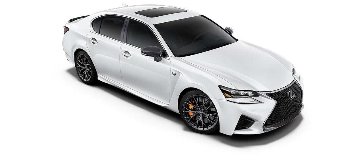2019 gsf   in Ultra White with '19-inch BBS split-10-spoke forged alloy wheels<span class='tooltip-trigger disclaimer' data-disclaimers='[{\'code\':\'TIREWEAR5\',\'isTerms\':false,\'body\':\'19-in performance tires are expected to experience greater tire wear than conventional tires. Tire life may be substantially less than mileage expectancy or 15,000 miles, depending upon driving conditions.\'}]'><span class='asterisk'>*</span></span>' angle3