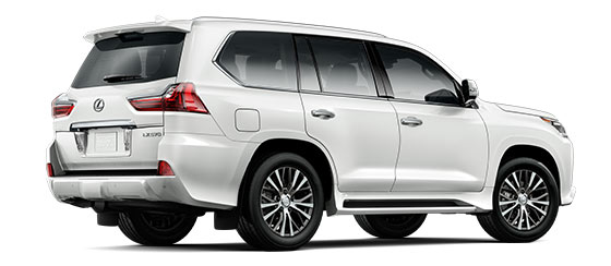2019 Lx 570 Three Row In Eminent White Pearl With 20 Five