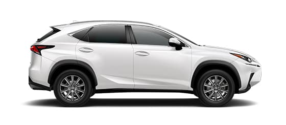 2019 Nx 300 In Eminent White Pearl With 17 10 Spoke Alloy Wheels