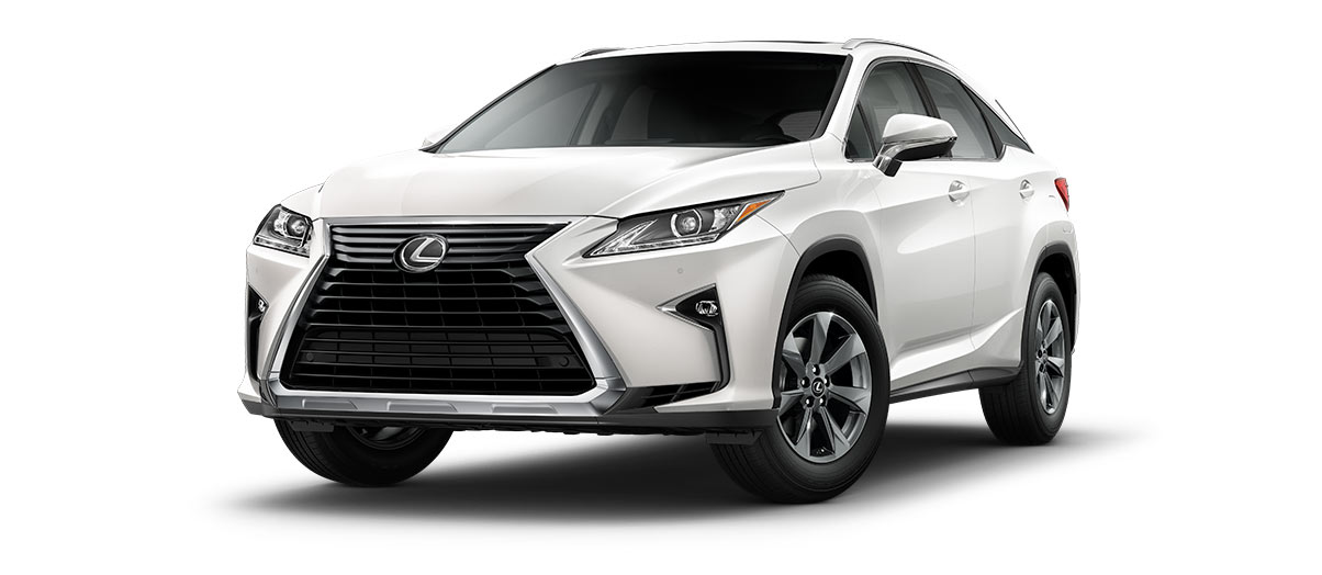 2019 rx 350 in Eminent White Pearl with '18-inch seven-spoke alloy wheels<span class='tooltip-trigger disclaimer' data-disclaimers='[{\'code\':\'TIREWEAR2\',\'isTerms\':false,\'body\':\'18-in performance tires are expected to experience greater tire wear than conventional tires. Tire life may be substantially less than mileage expectancy or 15,000 miles, depending upon driving conditions.\'}]'><span class='asterisk'>*</span></span>' angle1