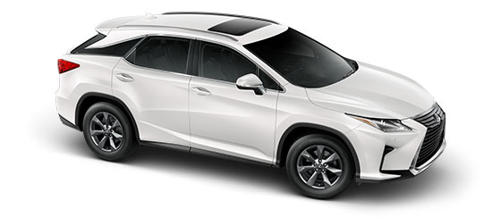 2019 Rx 350 In Eminent White Pearl With 18 Inch Seven Spoke Alloy Wheels