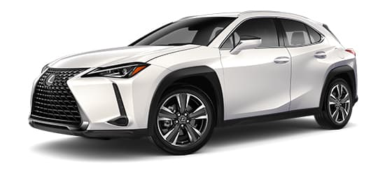 2019 Ux 200 In Eminent White Pearl With 18 Five Spoke Alloy Wheels