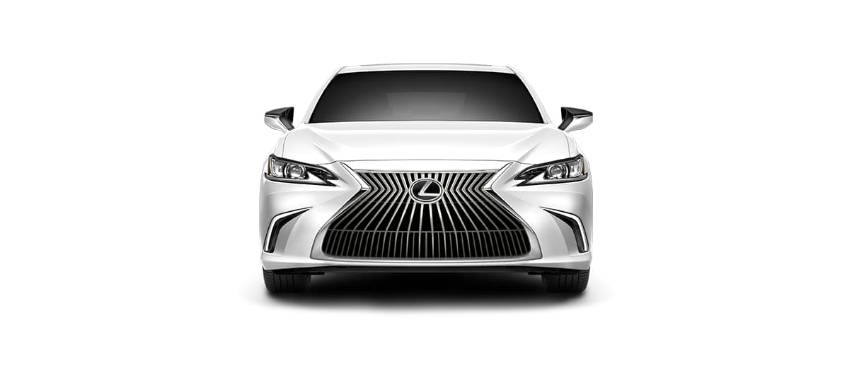 2020 es 350 in Eminent White Pearl with '17-in split-10-spoke alloy wheels<span class='tooltip-trigger disclaimer' data-disclaimers='[{\'code\':\'TIREWEAR1\',\'isTerms\':false,\'body\':\'17-in performance tires are expected to experience greater tire wear than conventional tires. Tire life may be substantially less than mileage expectancy or 15,000 miles, depending upon driving conditions.\'}]'><span class='asterisk'>*</span></span> with Dark Silver and machined finish' angle5