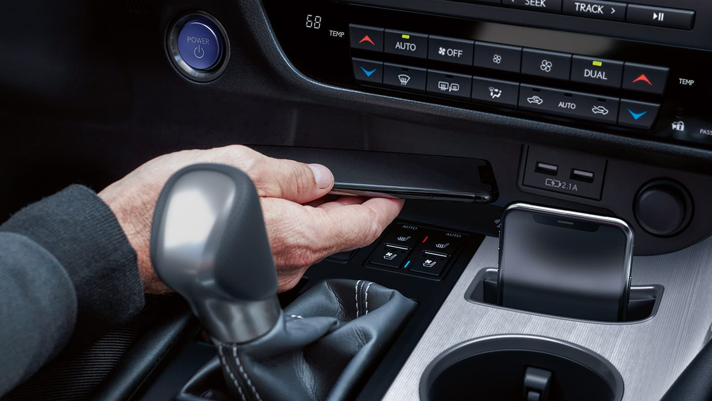 2021 Lexus RX Center Console