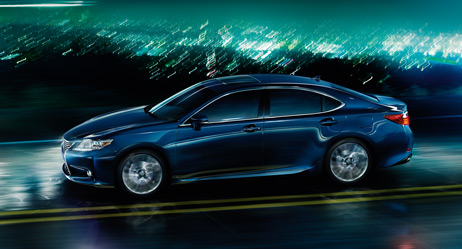 2013 Lexus ES 350 - exterior color - Deep Sea Mica