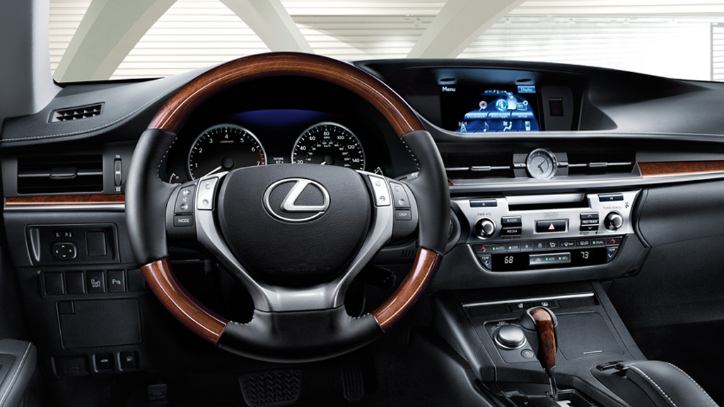 2014 Lexus ES 350 Interior Shown In Light Gray Leather With Available Ultra  Luxury And Navigation