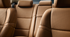 GS Luxury shown in Flaxen leather trim.