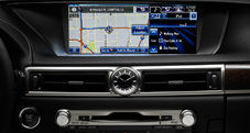 Available Navigation System with 12.3-inch display.