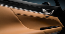 GS shown in Flaxen leather trim.