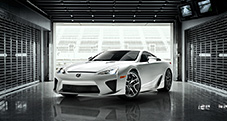 2013 LFA shown in Whitest White.