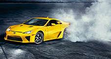 2013 LFA shown in Pearl Yellow.