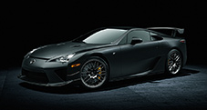 2013 LFA with Nürburgring Package shown in Matte Black.