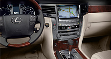 2013 LX shown with Parchment leather trim