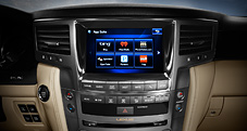 2013 LX shown with Navigation System shown with eight-inch color multimedia display