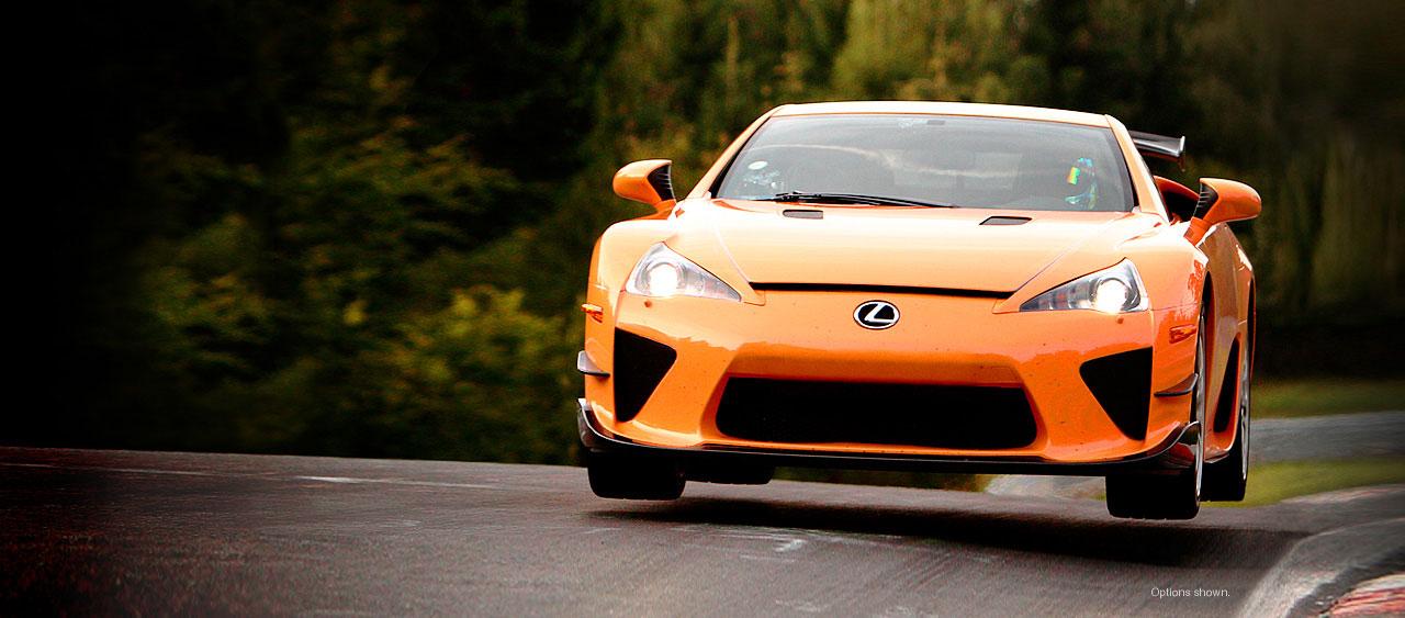 Lexus LFA  Toujours en piste  Actualités  L'Automobile Magazine