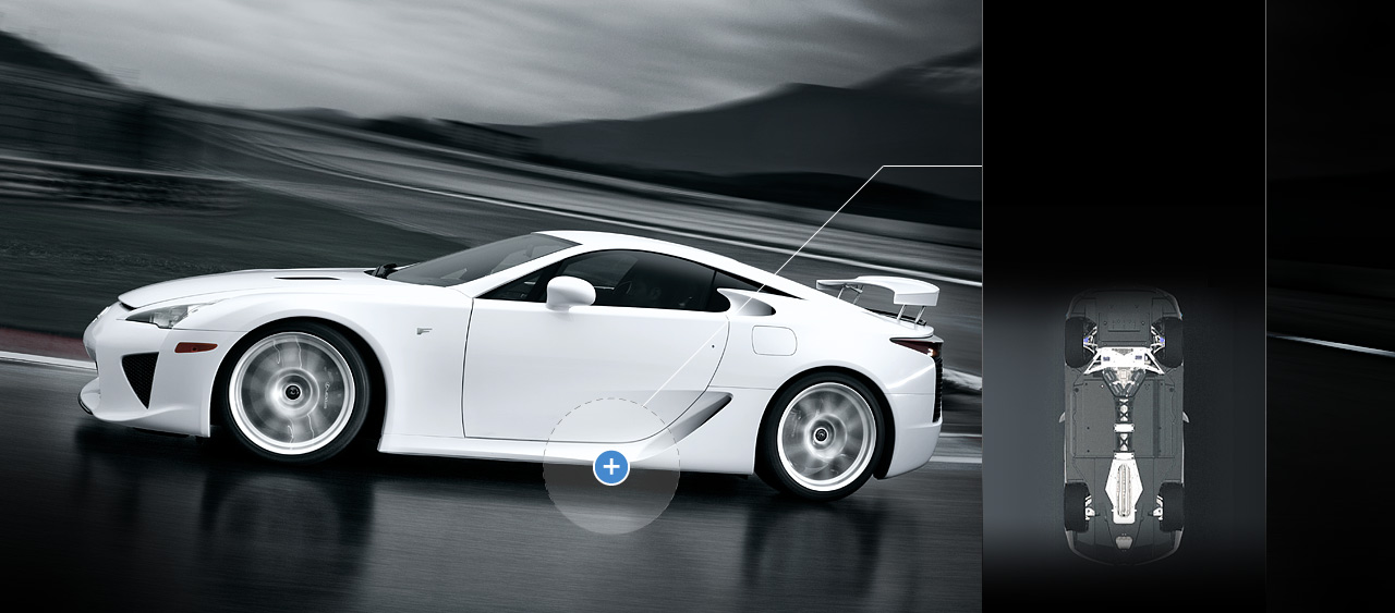 Lexus Lfa Supercar Explore The Vehicle Lexus Com