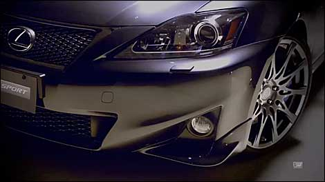 Lexus F SPORT accessories overview