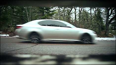 The Lexus GS F SPORT on Speed TV - Video