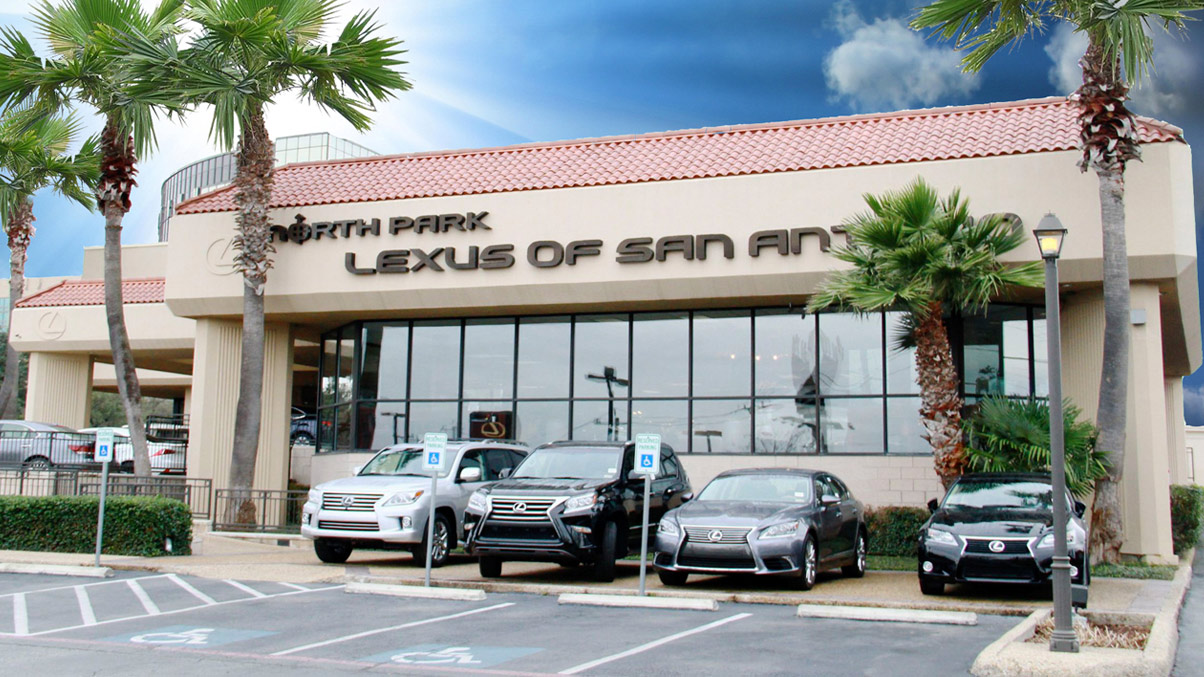 North Park Lexus X San Antonio TX Front Dealer 1204001