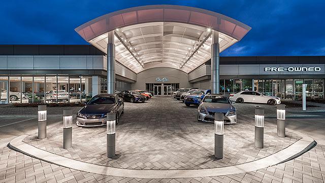 Lexus in grapevine