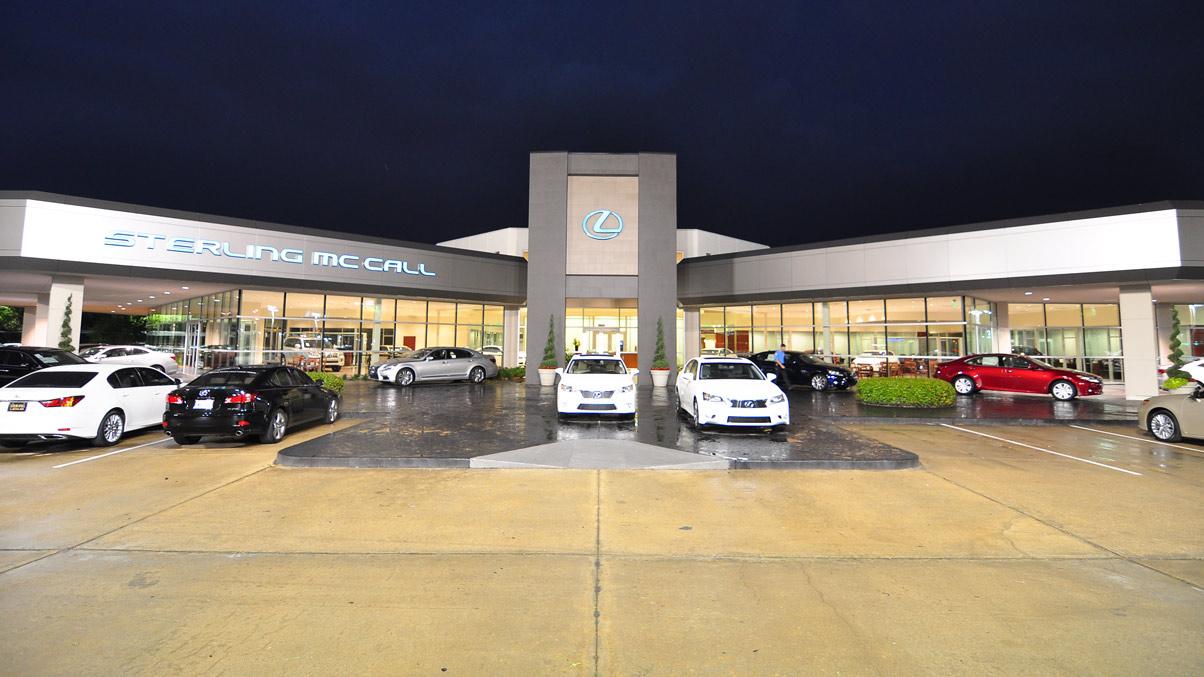 Sterling Mccall Lexus TX Exterior Dealer 1204001